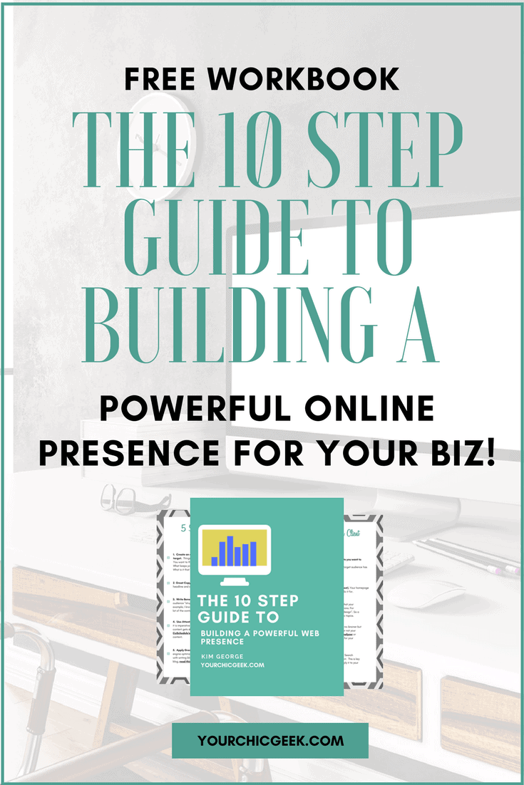 Build Your Online Presence Workbook