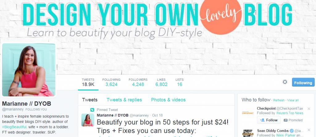 DesignYourOwnBlog Bio