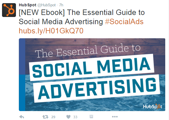 Hubspot Essential Guid e to Social Media Advertising