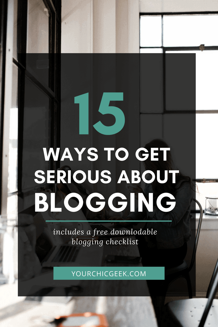15 Ways to Get Serious About Blogging for Business
