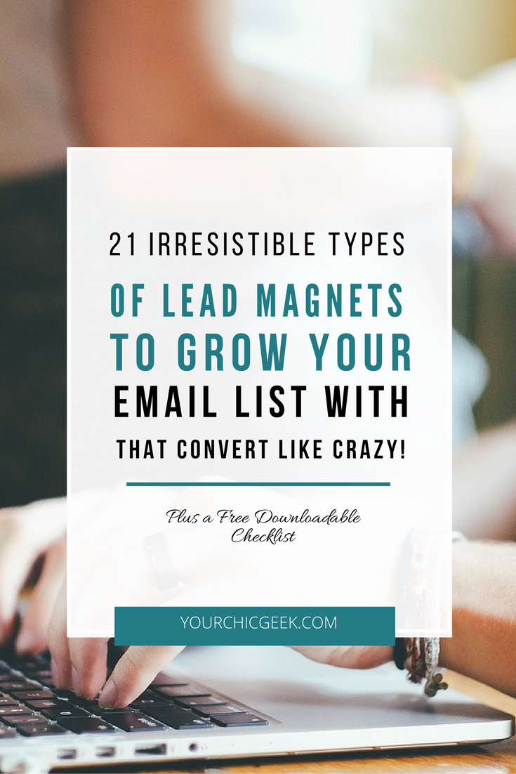 lead magnets to build an email list