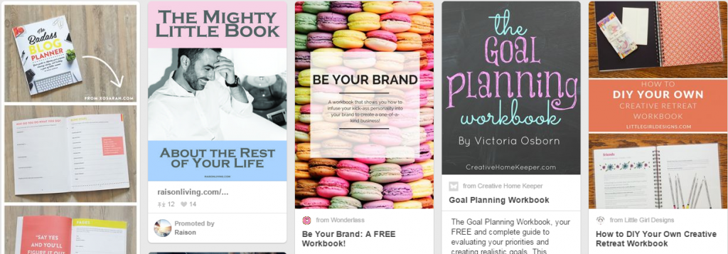 Pinterest Design Inspiration Board