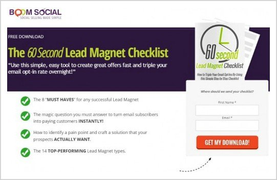 21 Irresisitble Types of Lead Magnets to Build an Email List