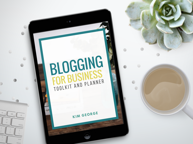Blogging for Business Toolkit and Planner