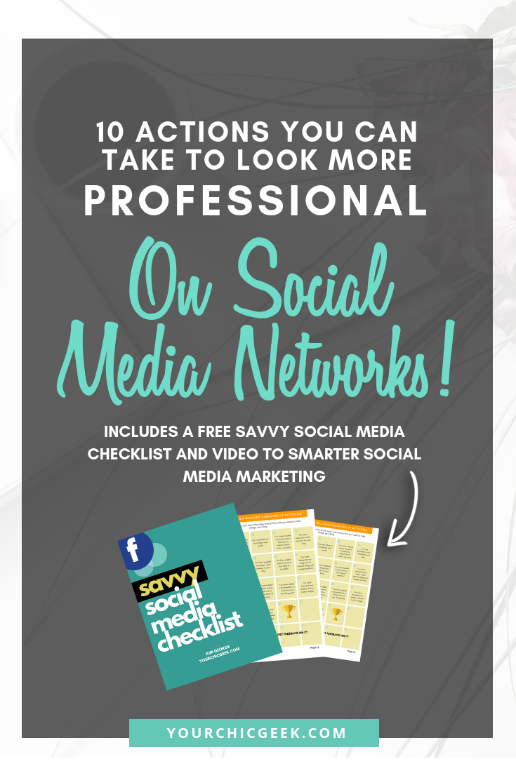 How to Look More Professional on Social Media