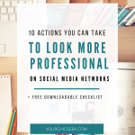 10 Actions Small Businesses Can Take To Look More Professional on Social Media