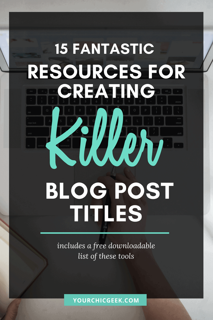 Blog Post Title Generators and Tools