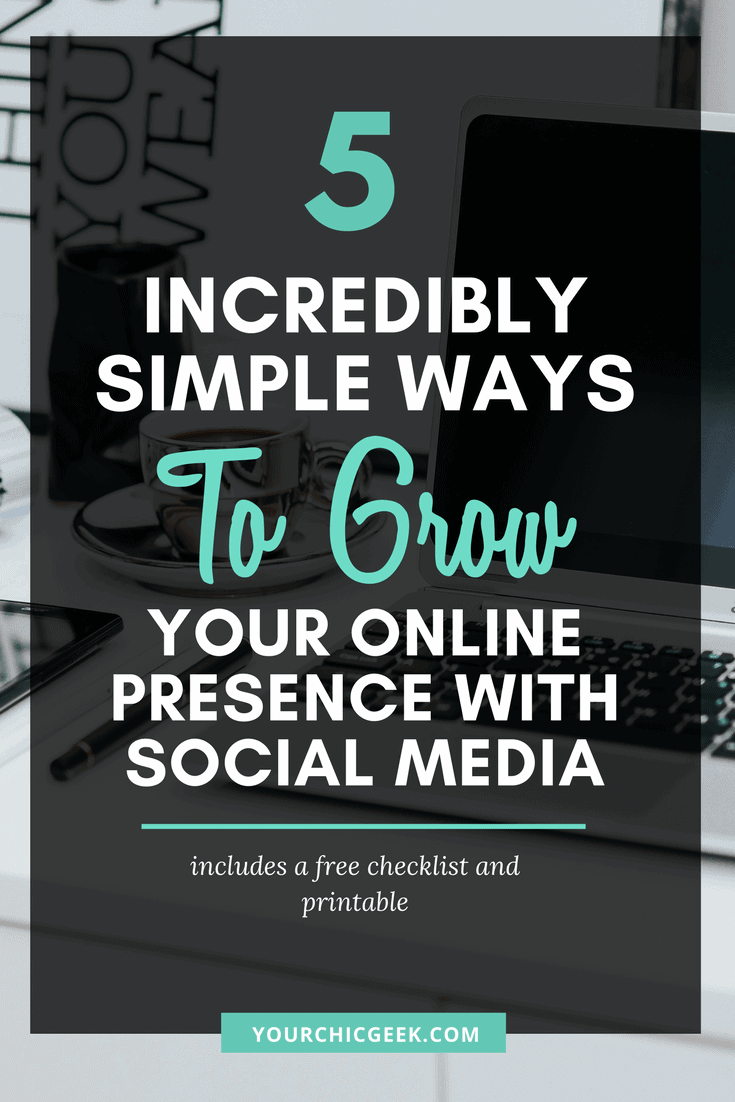 Use Social Media To Grow your Online Presence