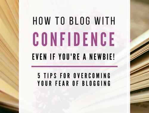 Overcome The Fear of Blogging