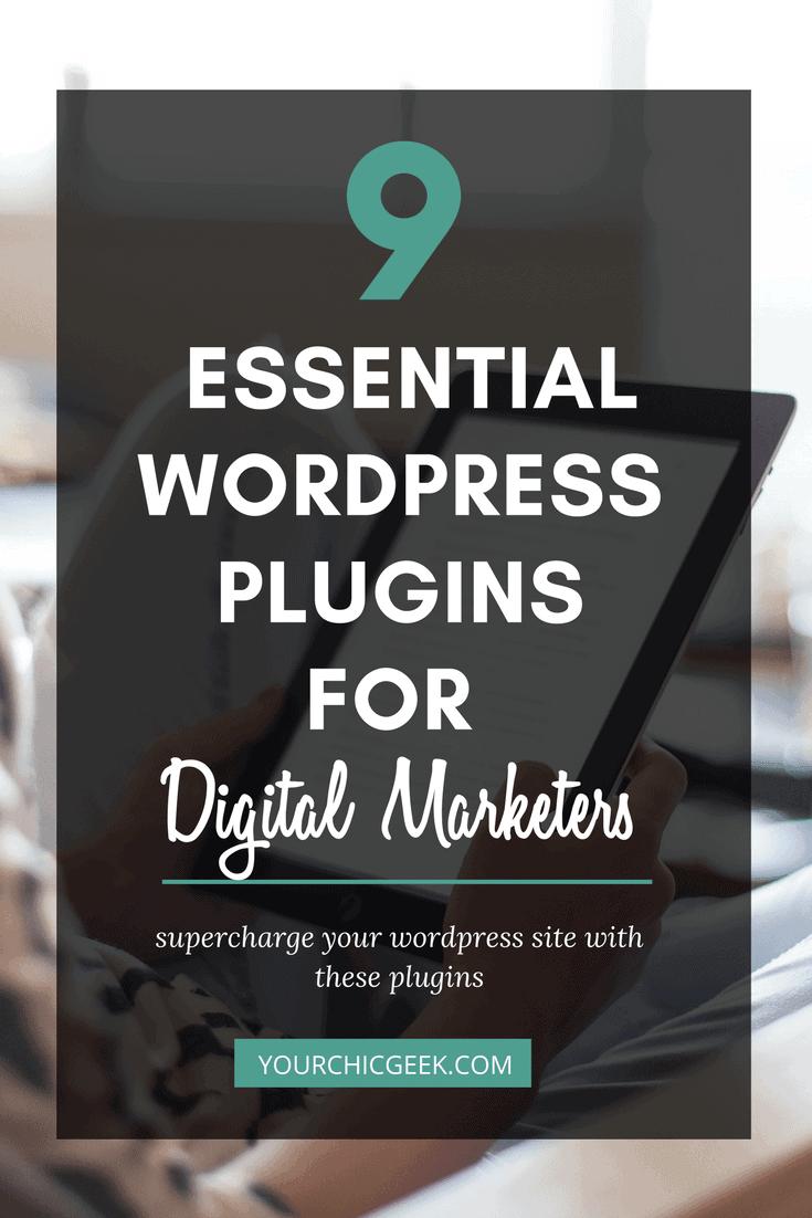 wordpress plugins for digital marketers