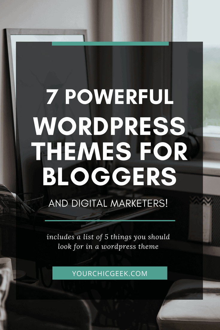 Wordpress Themes for For Bloggers and Digital Marketers