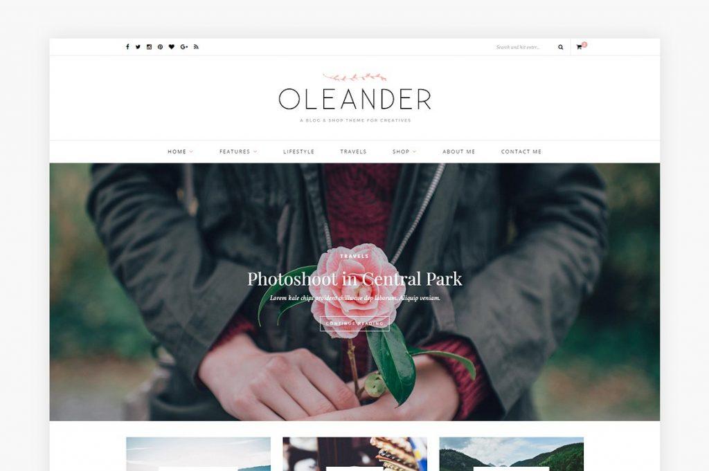 Orleander Theme Solopine
