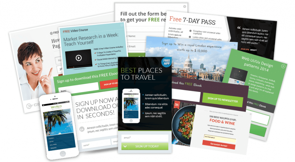 Thrive Leads Opt In Form Examples