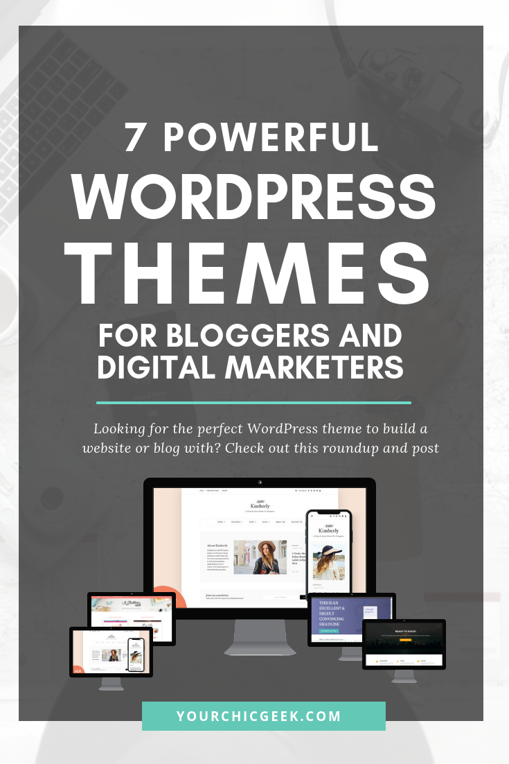 Wordpress Themes for Bloggers and Digital Marketers