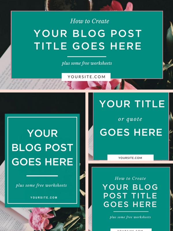 Blog and Social Media Graphics Kit