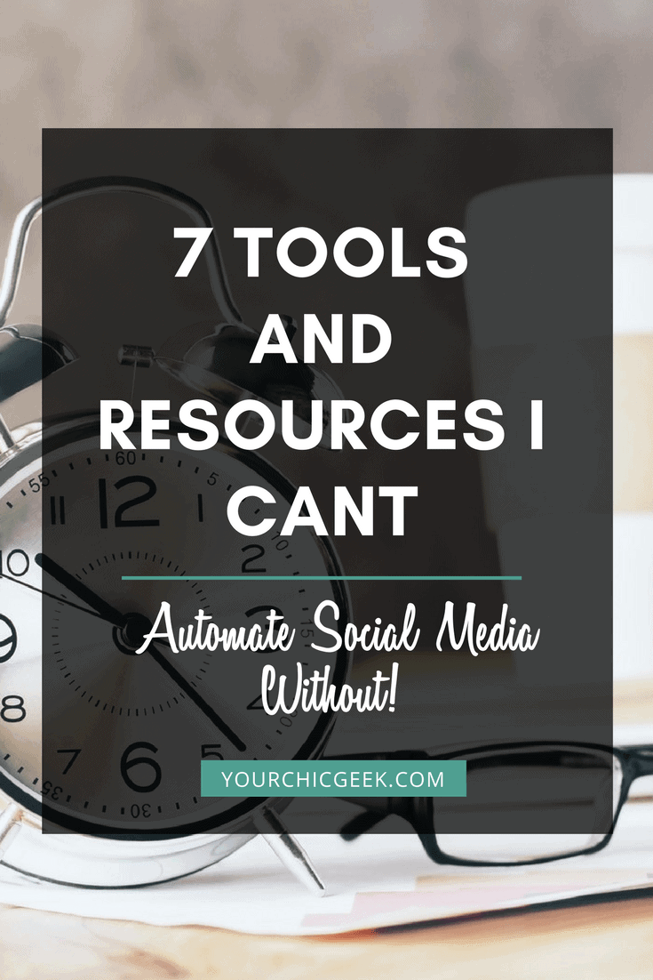 Tools for Automating Social Media