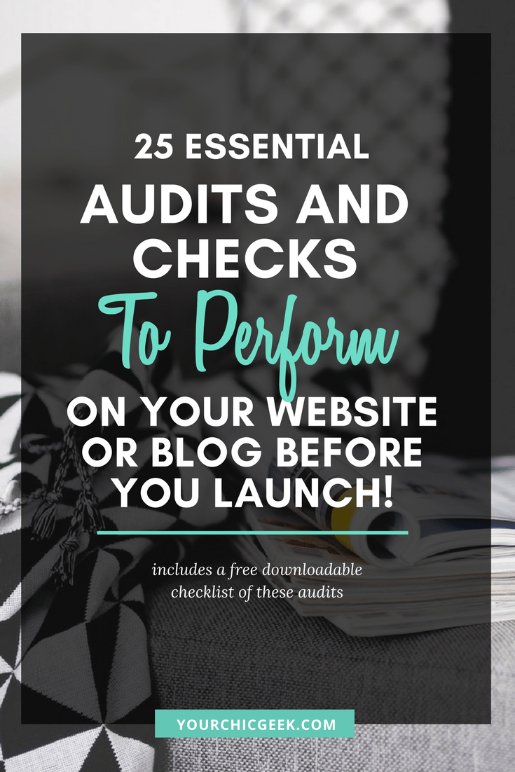 How to Audit Your Website or Blog