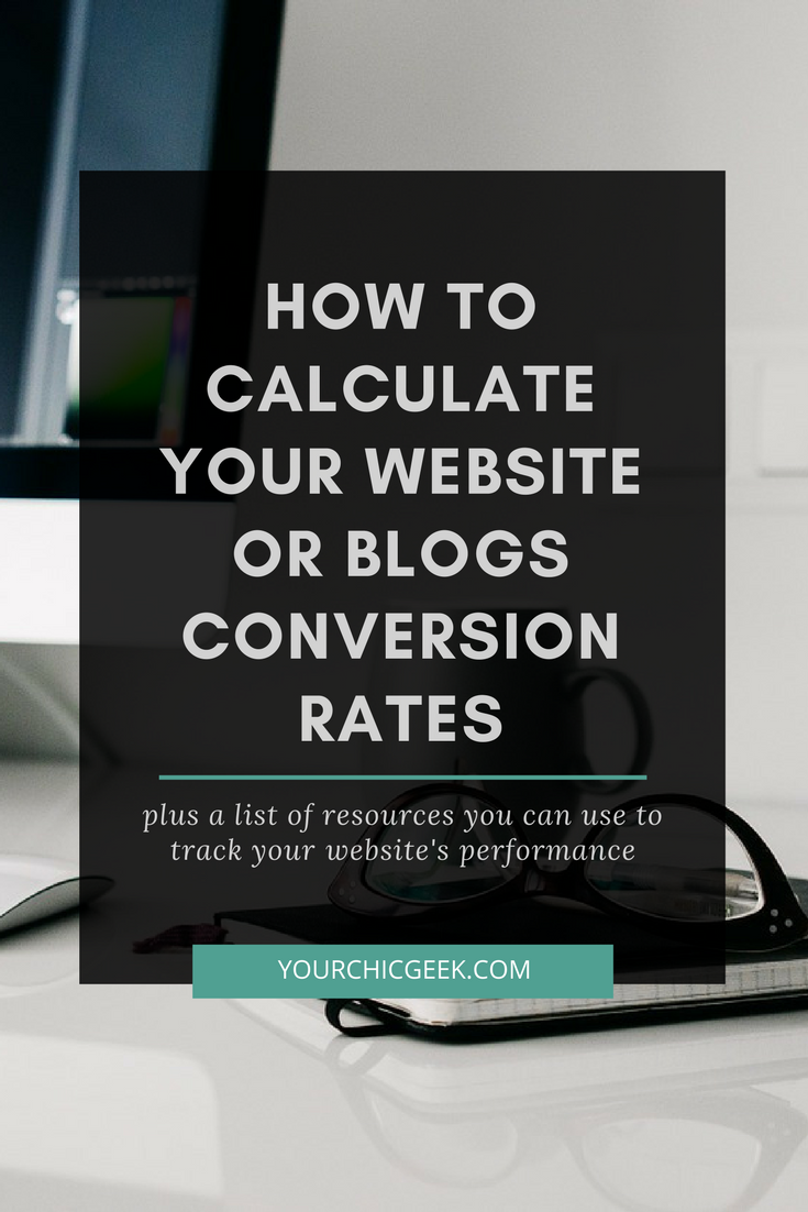 calculate your websites conversion rate