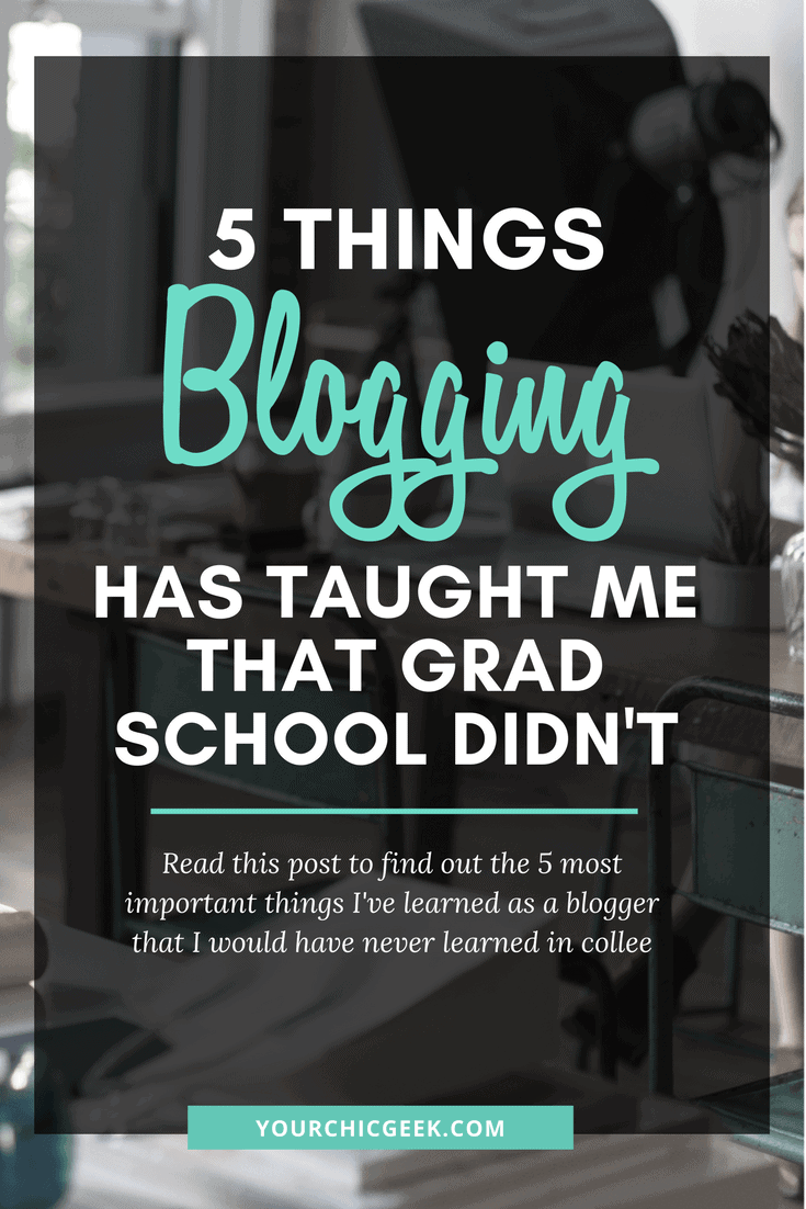 Things Blogging Has Taught Me
