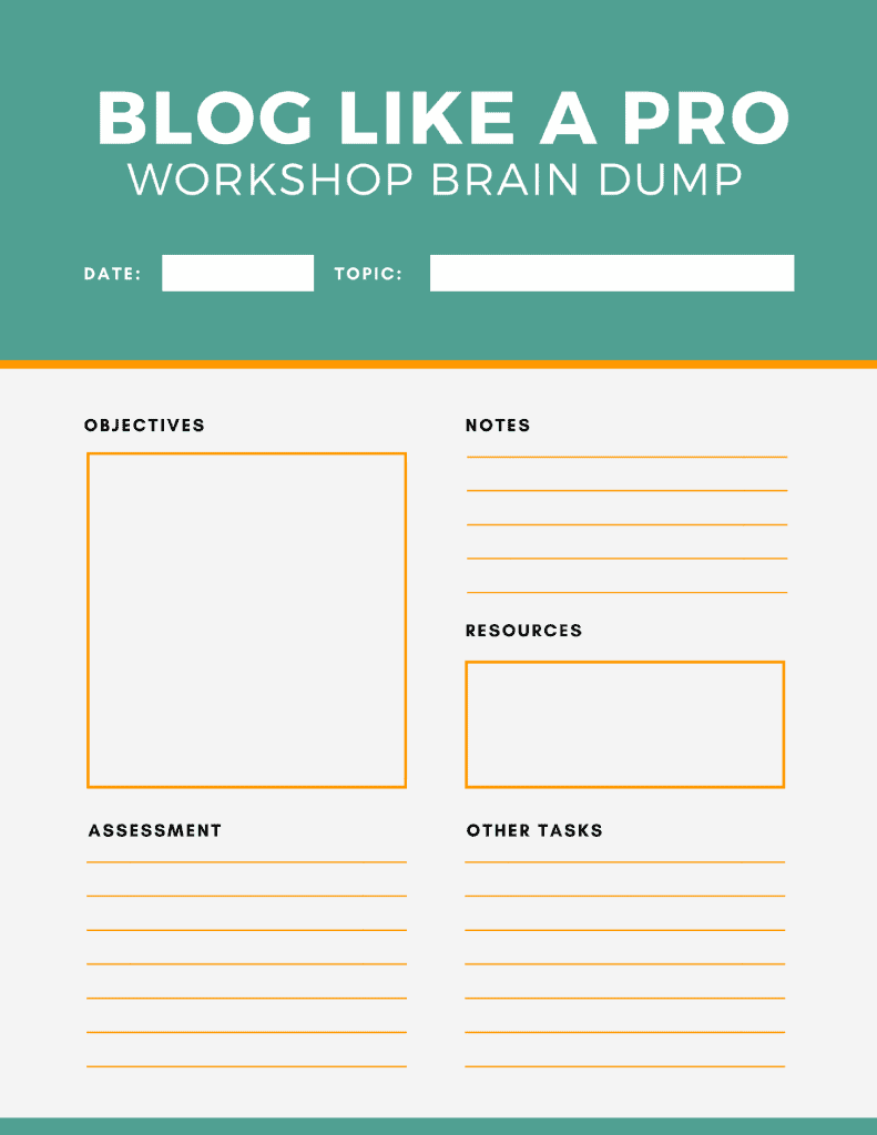 Create Your Own Worksheets : How to make your own worksheets with canva for work video