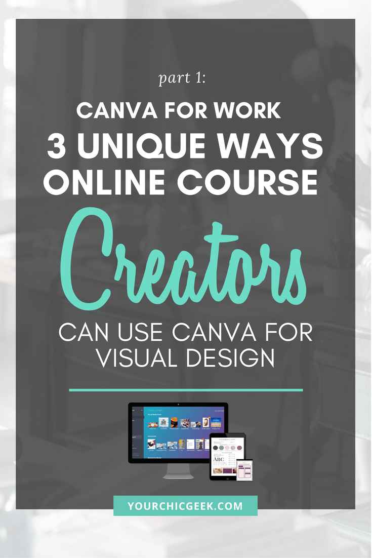 Canva for Work for Course Creators