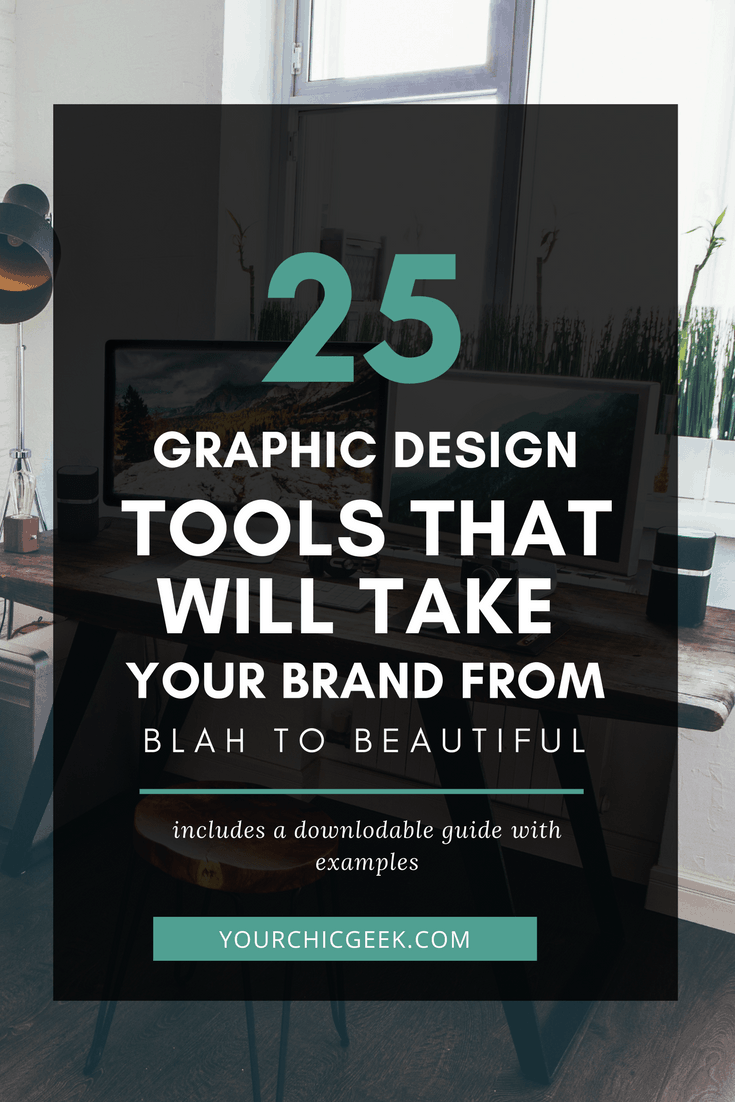 25 Graphic Design Tools to Improve your Branding