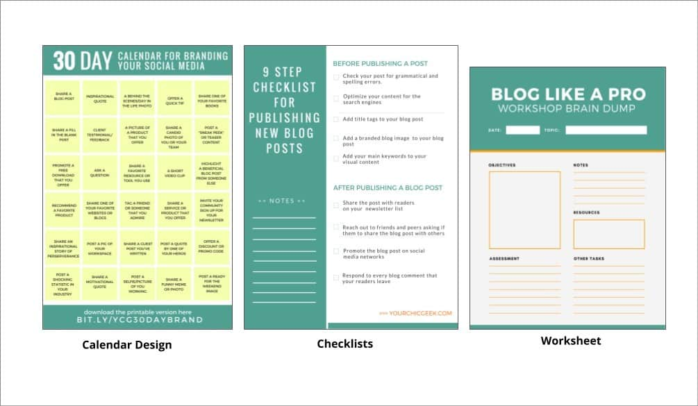 Canva for Designing Printables