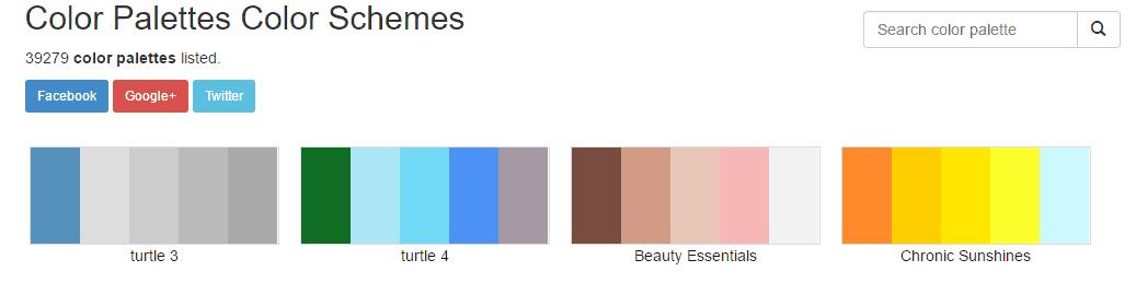 Color-Hex.com Website
