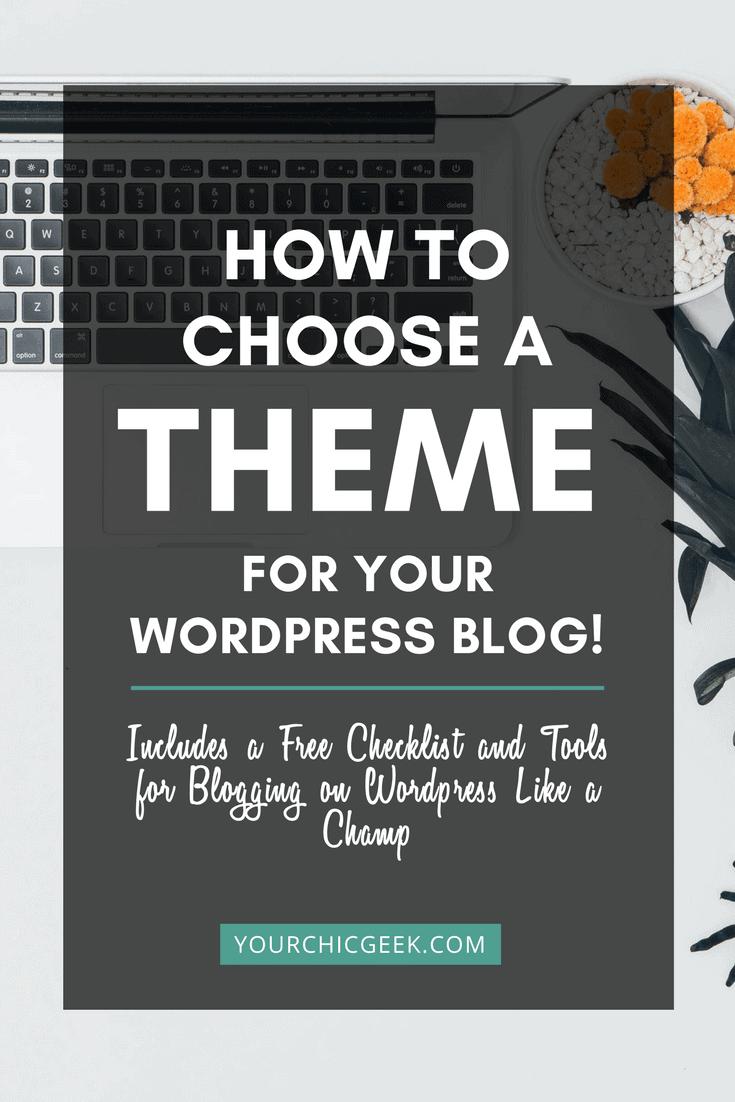 blog theme for wordpress