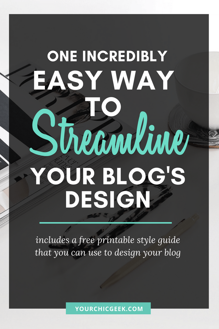 Creating a Style Guide for your Blog
