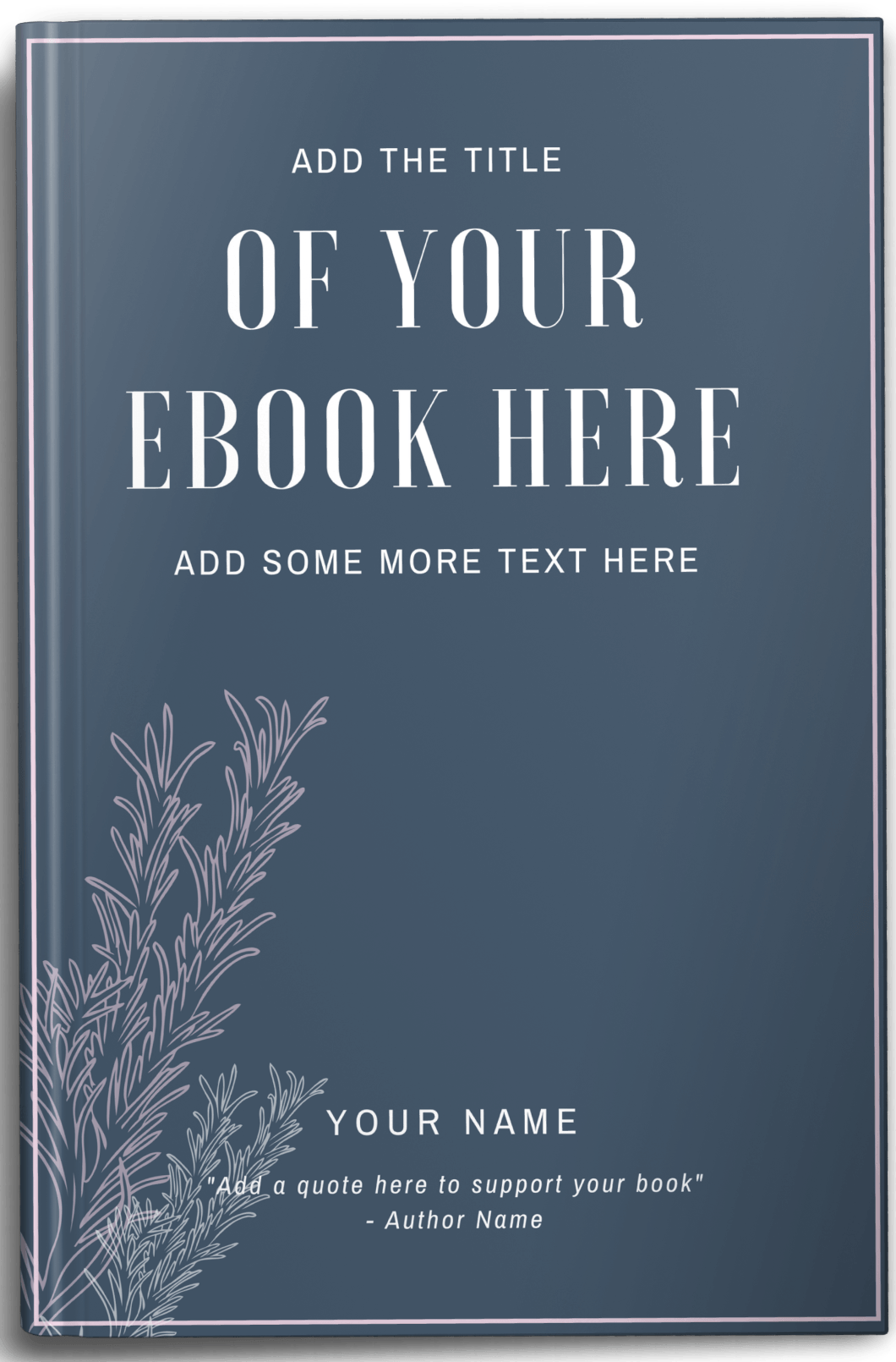 eBook Mockup Example