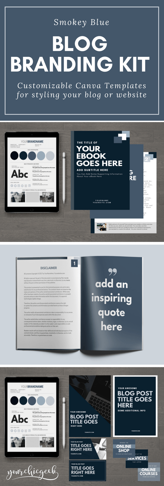 Smokey Blog Branding Kit