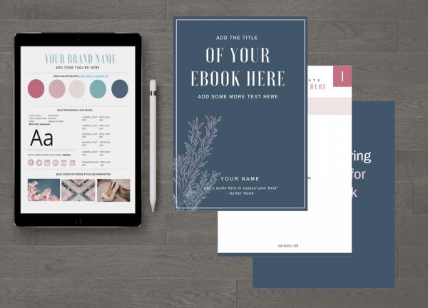 Canva eBook Template customizable