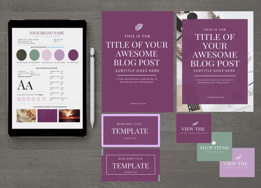 Shades of Magenta Blog Design Essentials