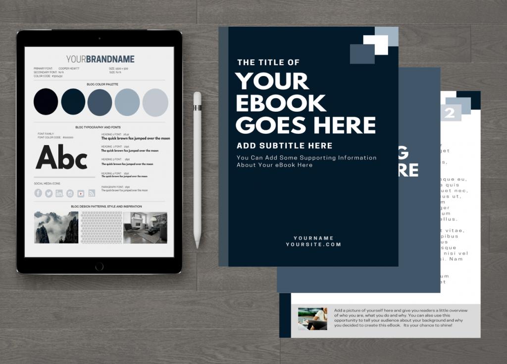 Smokey Customizable eBook Template