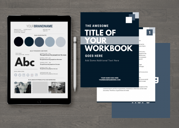 Smokey Workbook Template