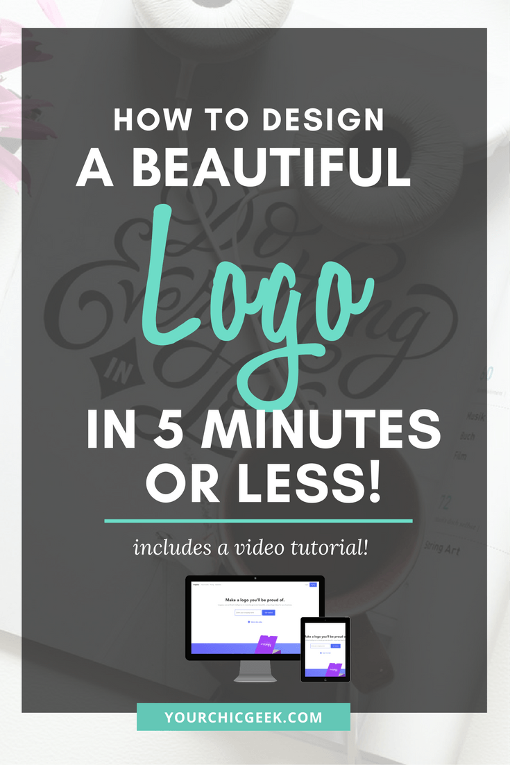 How to Design a Logo in 5 Minutes or Less