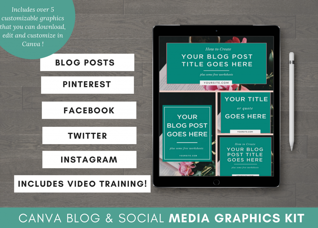 Canva Graphics Pack and Templates