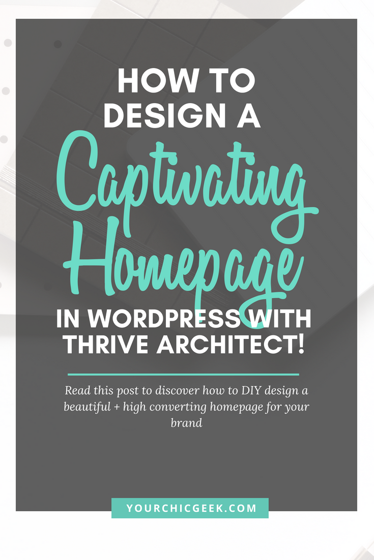 Homepage design with WordPress DIY tips