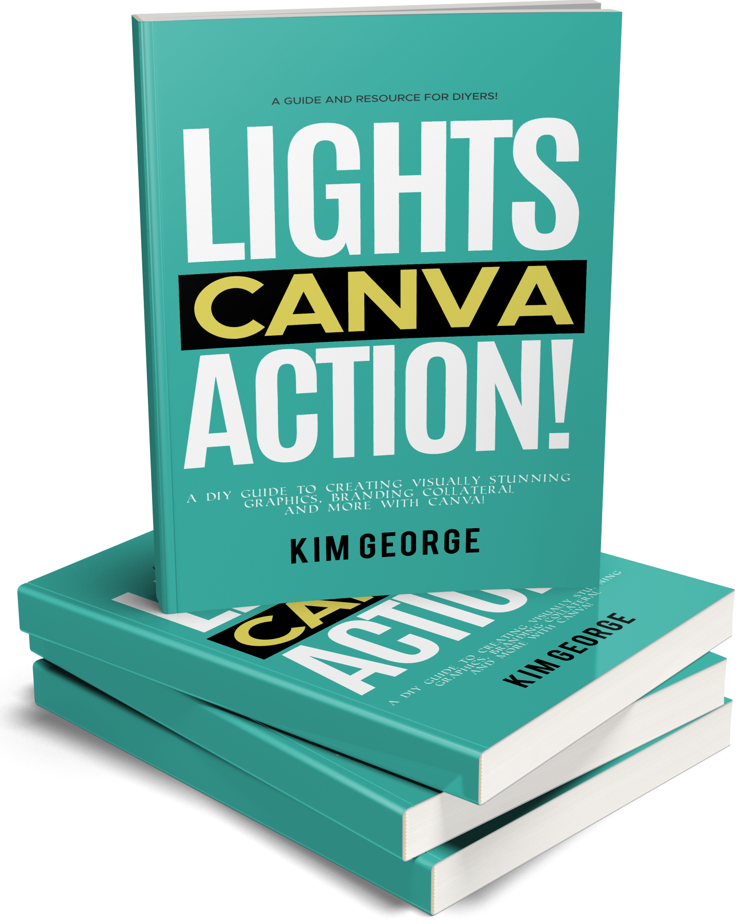 Lights Canva Action eBook