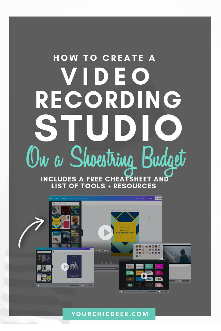 How to Create a Video Recording Studio on a Budget