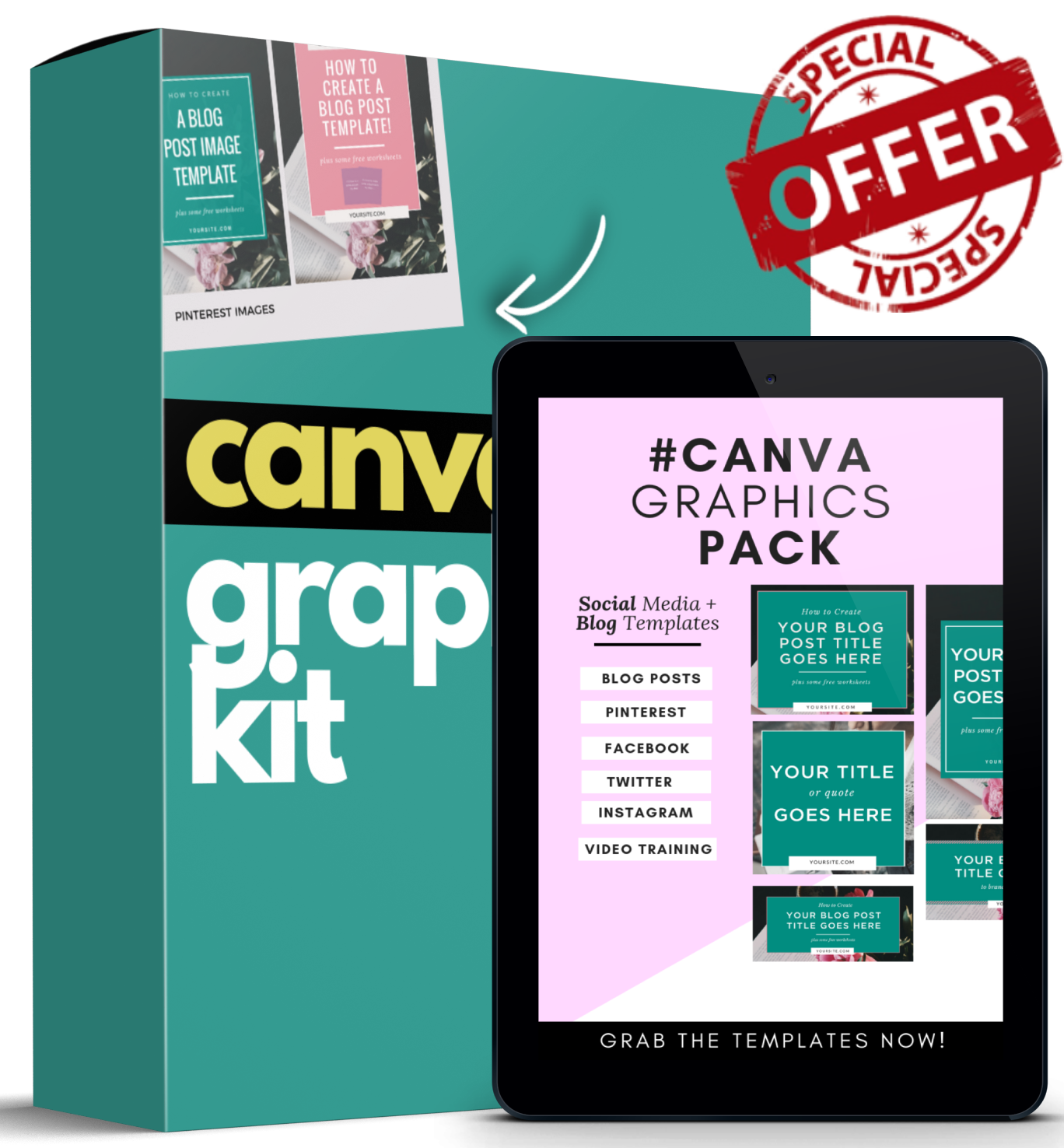 Canva Graphics Kit