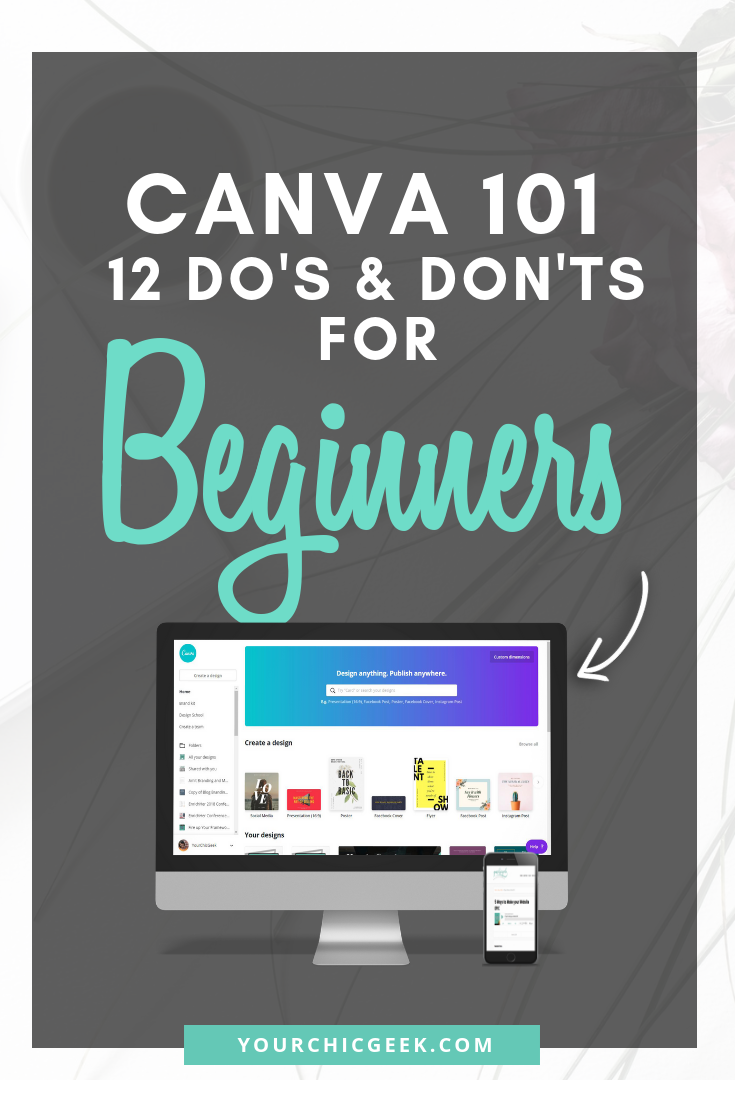 canva 101 design guide for beginners