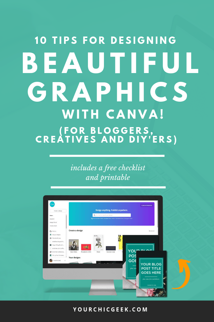 Graphic Design Tips for Bloggers and Non Designers
