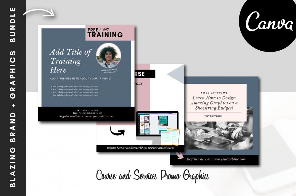 Canva for Work Social Media Marketing Graphics