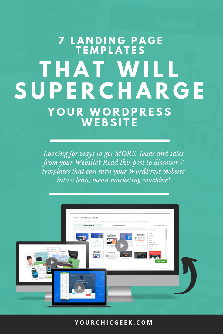 landing page design tips and templates for WordPress