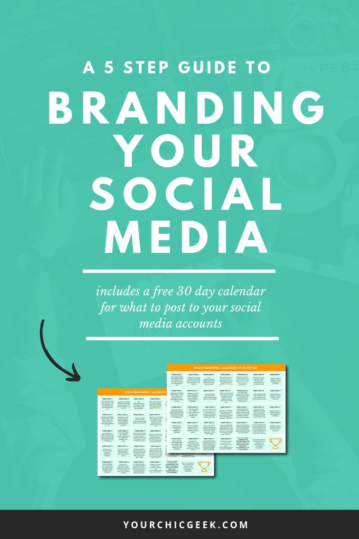 branding your social media