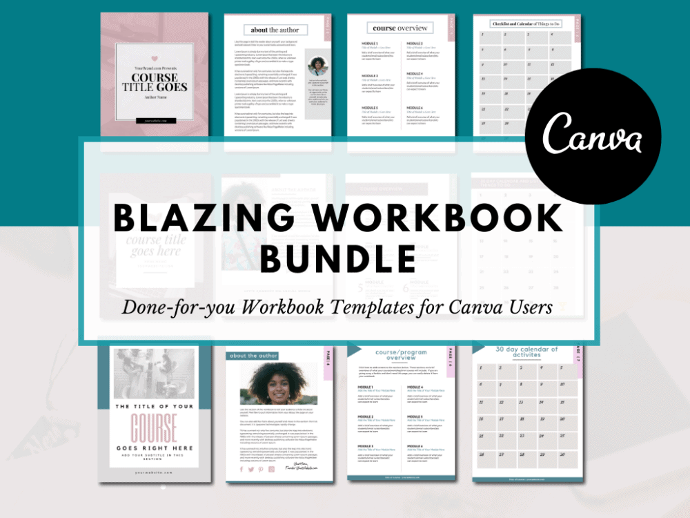 Canva Workbook Templates (3)