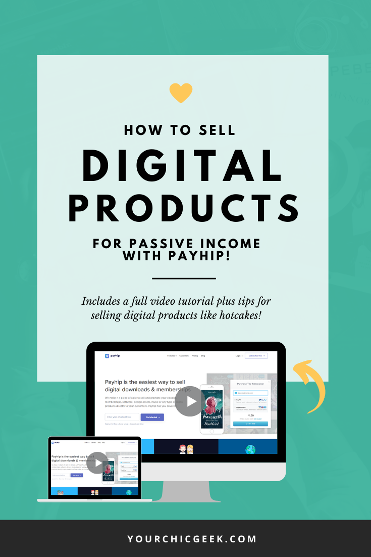 How to Sell Digital Products For Passive Income With Payhip